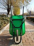 Capacidade de carga pesada Jardim Wheelbarrow sólida de aço