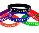Il braccialetto del silicone, il Wristband promozionale, braccialetto di modo, imprime il braccialetto di marchio