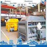 Da espiral gêmea do eixo do equipamento de construção Js3000 do edifício misturador concreto do grupo