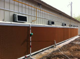Cofragem de resfriamento em casa de aves com equipamento automático integrado