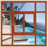 Simple vitrage vitre coulissante en aluminium avec des prix bon marché