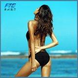 Beachshinyはプリント水着のセットされたブラジルのBiquiniのセクシーなビキニを縞で飾った