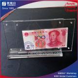 En gros 2 Side Clear Acrylic Banknote Frame