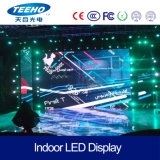 Alta pantalla de interior impermeable del brillo P6 SMD LED