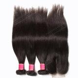 安い価格の毛100%のペルーのバージンの毛の拡張