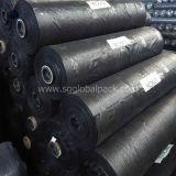 Оптовая торговля Китая прочного тканого Geotextile черного цвета РР