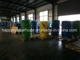 매끄러운 섬유 직물 직물 털실 끈목 다채로운 공기 물 기름 납품 다목적 호스