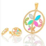 De Oorringen van de Juwelen van de Manier van de Juwelen van het Roestvrij staal van de tegenhanger (hdx1090)