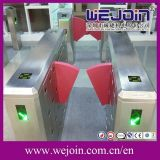 Flap Cheio-Automatic elegante Barrier Wing Barrier para Card Reader