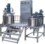 クリーム色の軟膏のスキンケア製品の真空の乳状になるミキサー機械