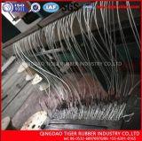 Feuerfestigkeit-Stahlnetzkabel-Gummiförderband