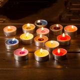 При нажатии кнопки горячей продажа 3.5g Tealight свечи в день рождения /Группа