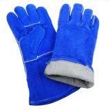 Seguridad Industrial guantes de soldadura resistente al calor de cuero Guantes de trabajo