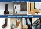 上のハングさせた様式のアルミニウム木製のWindows