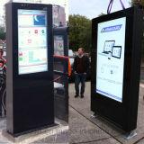 65 Zoll doppelte mit Seiten versehene LCD-im Freienbildschirmanzeige für das Bekanntmachen