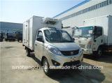 Vente chaude Foton 1-2tonnes congélateur Van chariot/4x2 mini-réfrigérateur chariot