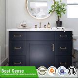 Große Kunstfertigkeit-leistungsfähige festes Holz-Badezimmer-Schränke