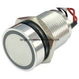 16mm Stainless Steel Capacitive Switches (CPS16B-FMNORS2-NGS) IP68 Waterproof