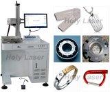 máquina de marcação a laser de fibra de aço inoxidável de Metal Máquina de marcação