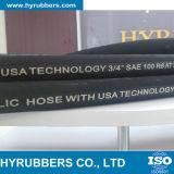Boyau hydraulique résistant au feu de SAE R6