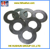 Rondelle à ressort galvanisée, cales d'acier inoxydable (HS-SW-004)