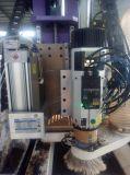 Загрузка и решение компоновки Umloading маршрутизатор с ЧПУ механизма с сверлильного агрегата и инструментальный шпиндель для деревообрабатывающего