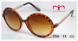 Metal Decoration (MI219&MI220)를 가진 Retro Style 및 Round Frame Sunglasses