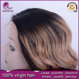 2t corps couleur blonde cheveux chinois d'onde Full Lace Wig