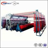 Plastik-pp.-Polypropylen Raschel strickender Ineinander greifen-Beutel, der Maschine herstellt