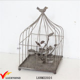 Rústico Decorativo Metal Birdcage Tealight Candle Holder