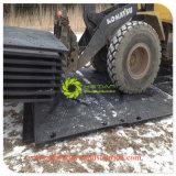 En PEHD recyclé à usage intensif de tapis de la route temporaire pour l'équipement lourd