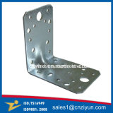 Suportes de ângulo reforçado em metal de aço galvanizado personalizado