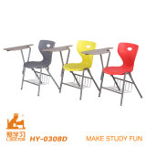 Plastic moderno School Chair com Writepad