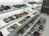 Удобные женская обувь с плоским экраном, дамы/женщин плоскую обувь, новых запасов, только 10000пар, провод фиолетового цвета кожи