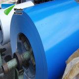 Il colore d'acciaio galvanizzato preverniciato bianco della bobina PPGI di JIS G3302 ha ricoperto la striscia d'acciaio