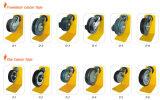 固体ショッピングトロリー足車PUの車輪