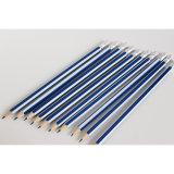 خشبيّة أقلام [هب] مع اللون الأزرق/فضة شريط وممحاة طرف