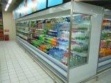 De Gekoelde Showcase van de supermarkt Multideck met Ce- Certificaat