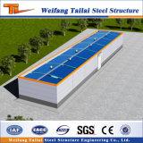 Bajo costo y edificio fácil de la estructura de acero de la instalación