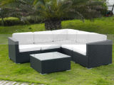 Mtc-138 jardim exterior Sofá móveis de vime definida