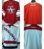 Настраиваемые мужская дети женщин Echl американцев с внутренним шестигранником Custom любое имя на любое количество красного цвета Белый Хоккей футболках Nikeid Goalit горячей резки продажи