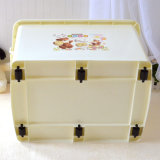 Wheels (15L~160L)를 가진 Ustomized High Quality Plastic Storage Box