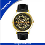 Luxe jaune complet Watch Business Watch