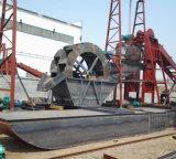 Draga hidráulica de la succión del cortador de la arena del Ce para el río/el tratamiento de aguas/la industria marítima