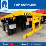 Titan-Fahrzeug - Aufhebung-Flachbettbehälter-Transport-Schlussteile des Blockwagen-2axle