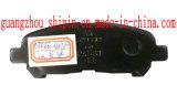 04466-48120 Spitzensitz-russischer Bremsbelag mit dem Zeichnen für Toyota