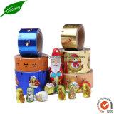 Goldfarben-Drucken-Aluminiumfolie-Papier-Schokoladen-Verpackungs-Folie