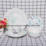 Nouveau style de jeu de la vaisselle en porcelaine