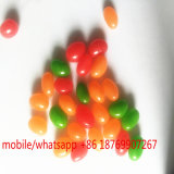 Venta caliente Rainbow bolas de caramelo caramelo recubiertos con sabor a fruta frijoles