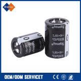 alto condensador electrolítico de la terminal Snap-in de la ondulación de 470UF 450V